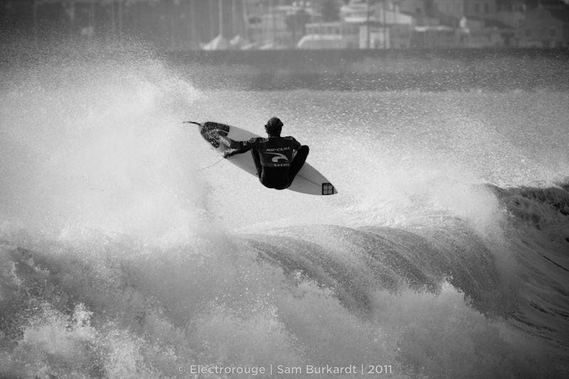 Ripcurl Pro Portugal 2011 – Kai Otton – Aerial