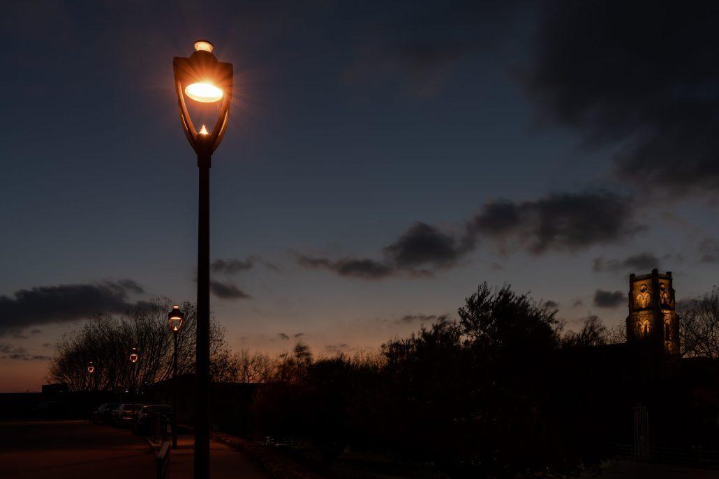 A l'aube