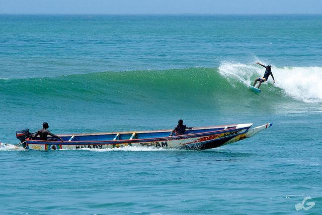 Ouakam, for surfers & fishermens
