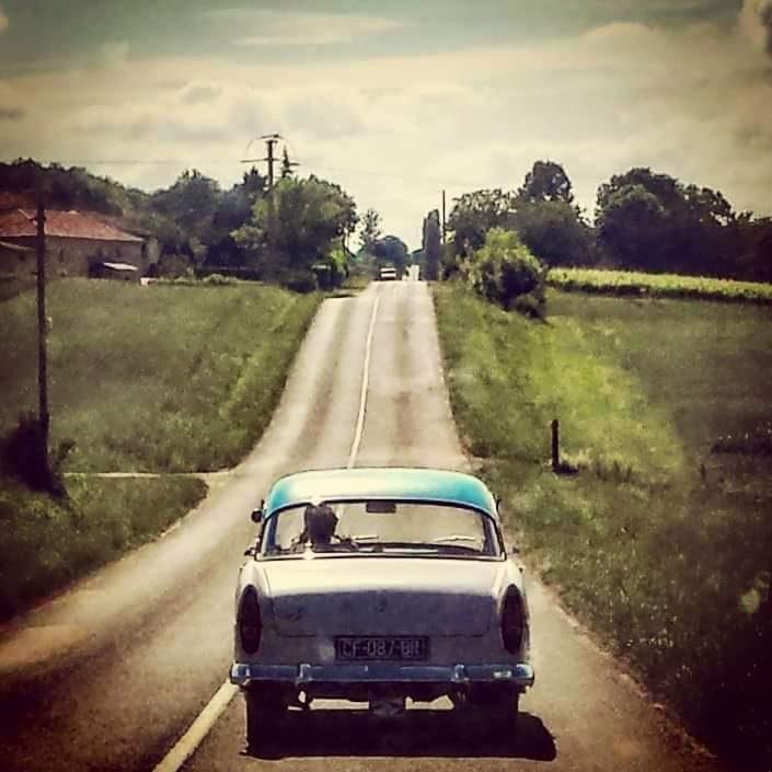 Road movie-like