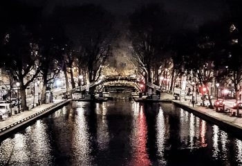 Canal lights - Paris