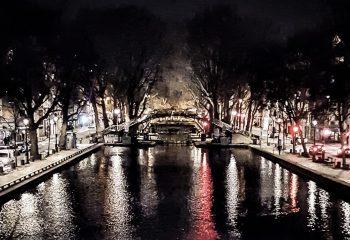 Canal lights - Paris