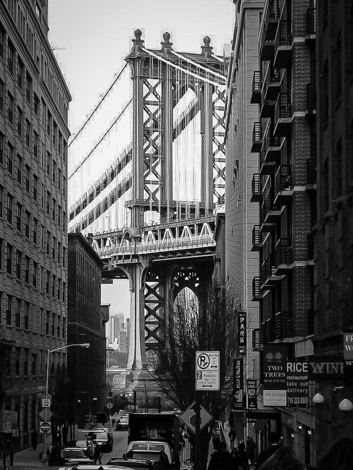 Brooklyn Bridge from D.U.M.B.O