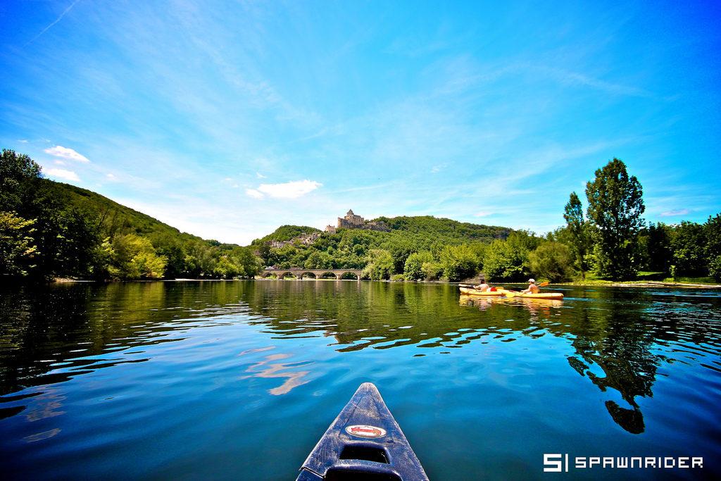 Balade en canoé sur la Dordogne
