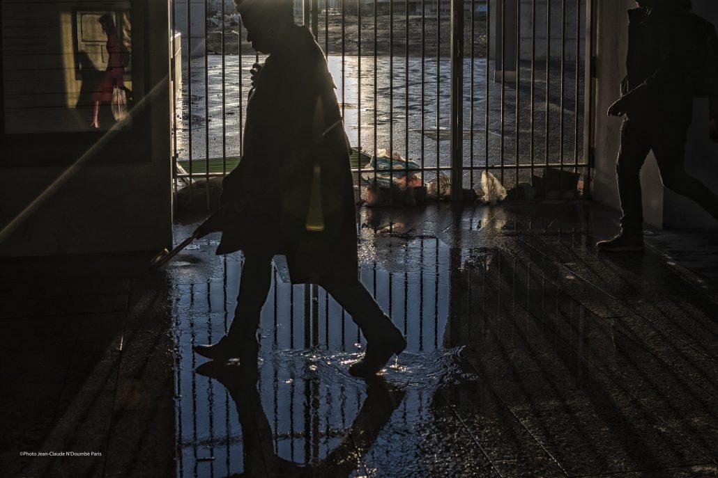 La belle , l'ombre et l'inconnu