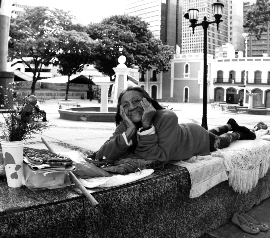 Vivre sur une place à Caracas