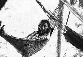Vieille femme de la tribu Warao