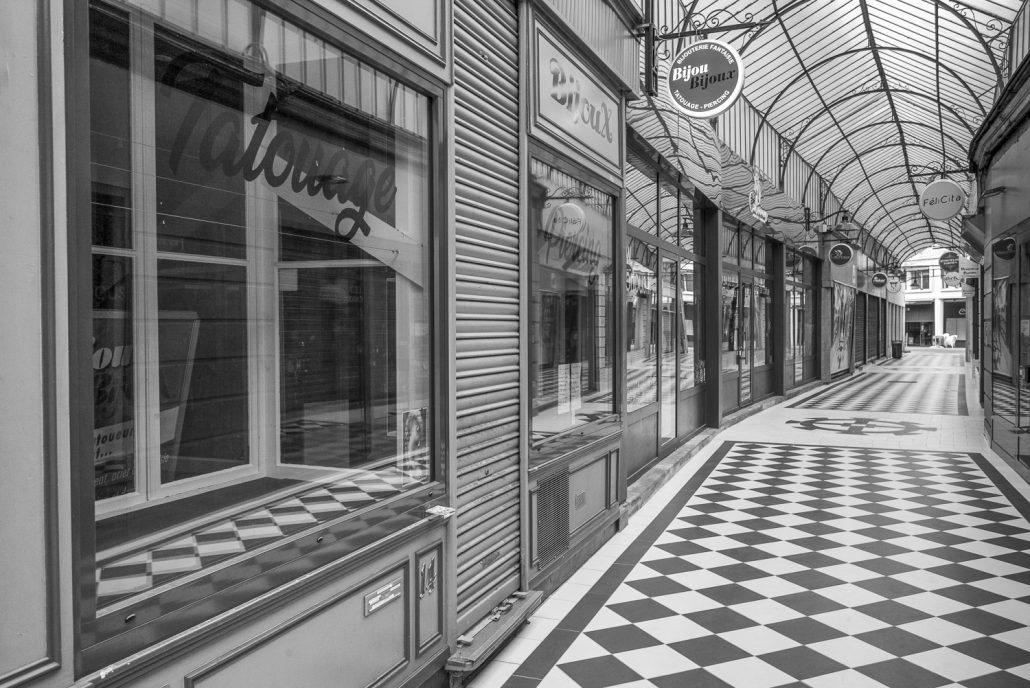 mulhouse, passage centrale