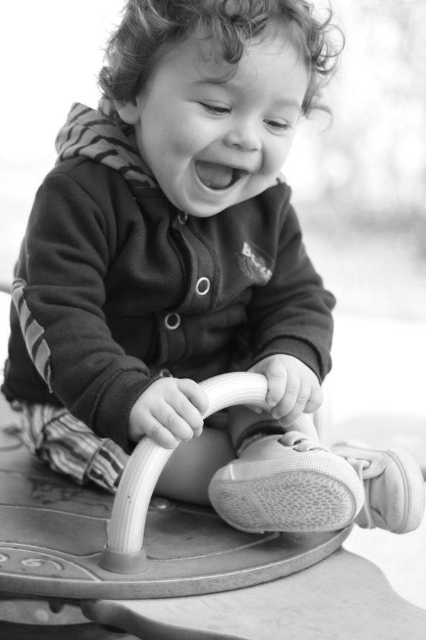 Bébé au Parc
