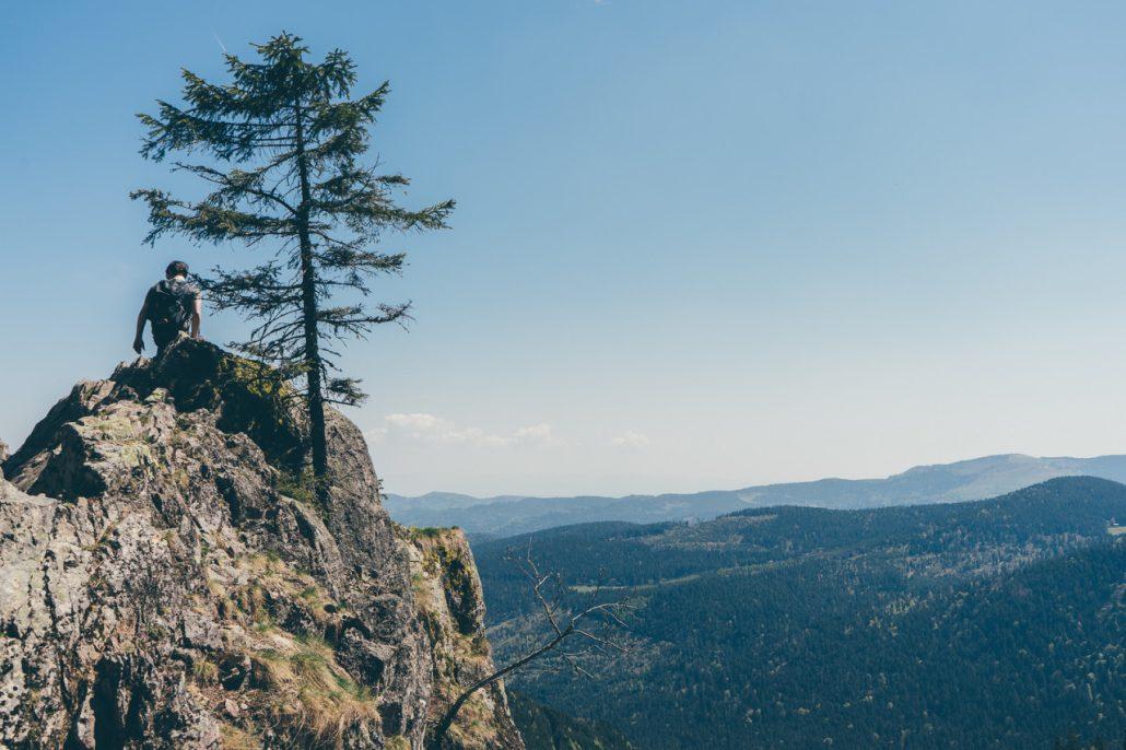 Sentier des roches