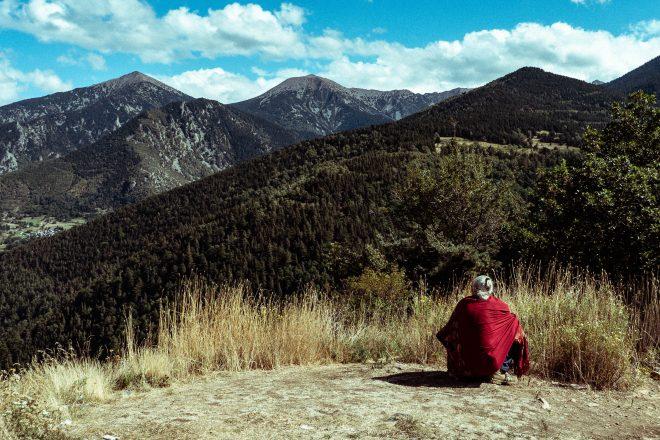 Le sage sur la montagne
