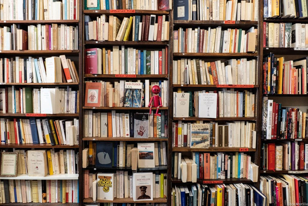 Mumu chez le libraire