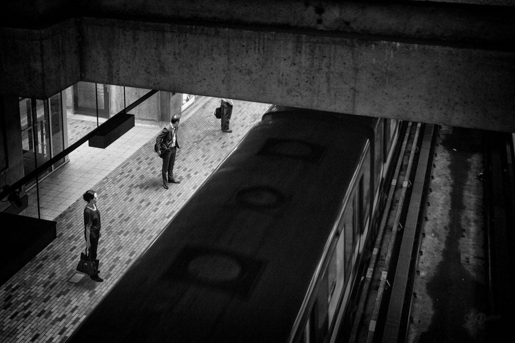 Trio du métro
