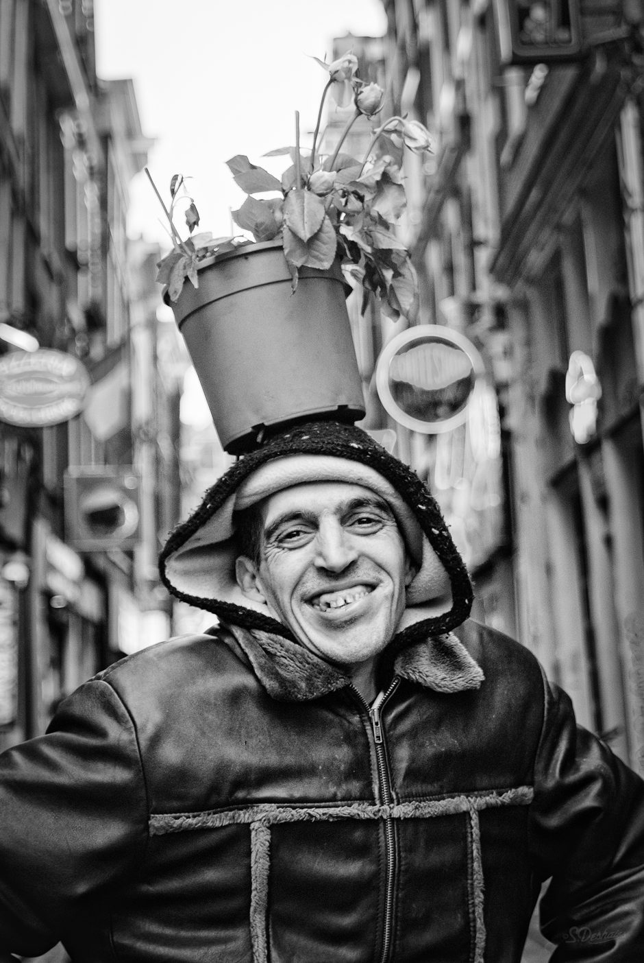 The Flower man of Amsterdam