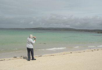 une plage en irlande