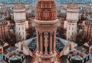 Du sommet de la Basilique du Sacré-Coeur
