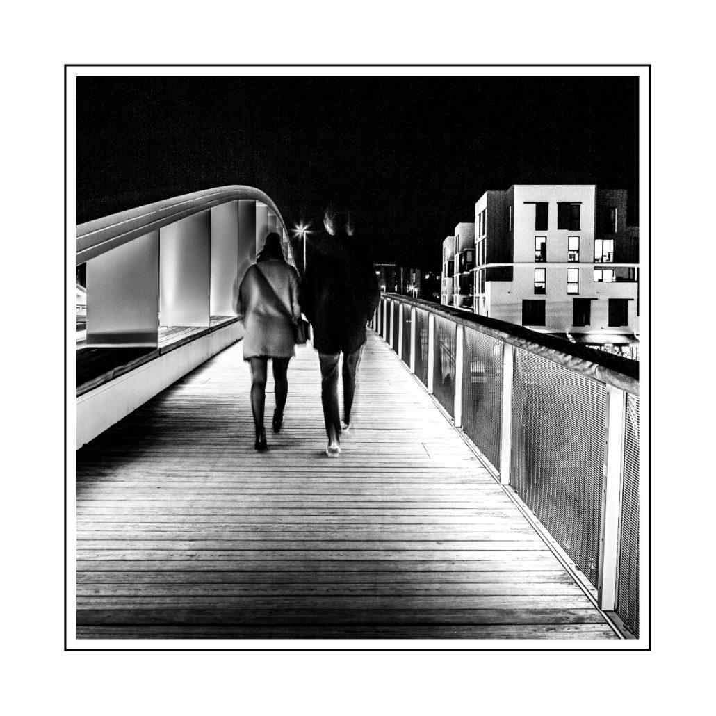 Les marcheurs du Pont Neuf