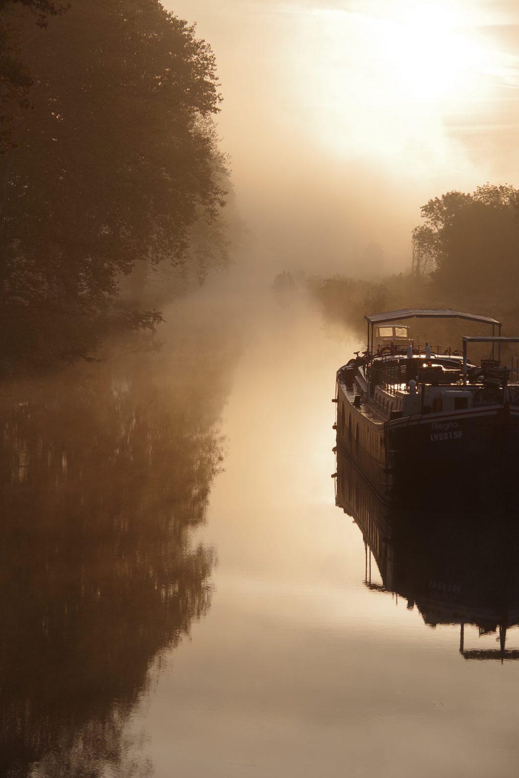 petit matin brumeux