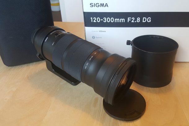 120-300mm f2.8 sigma sport monture canon