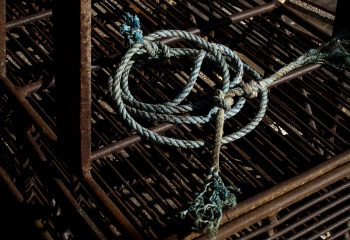 Corde et cage