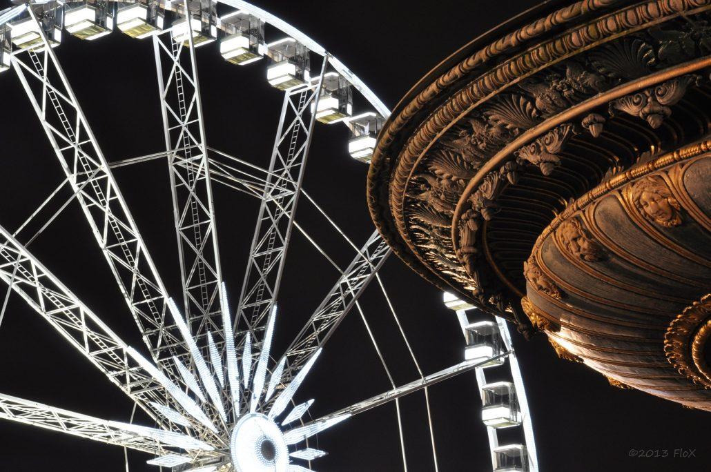 Vasque de la fontaine Brunen, roue de la Concorde