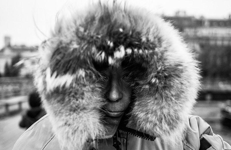 Inuit in Paris.