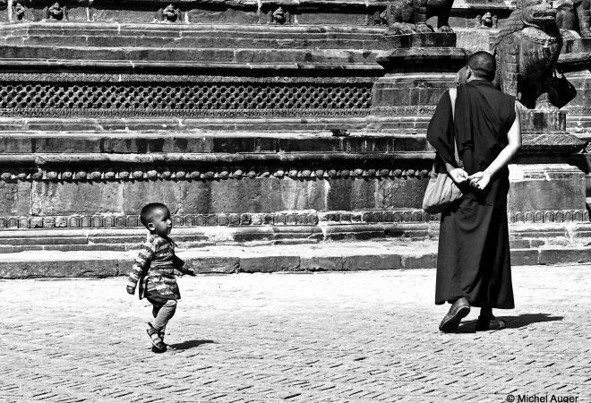 l'enfant et le moine