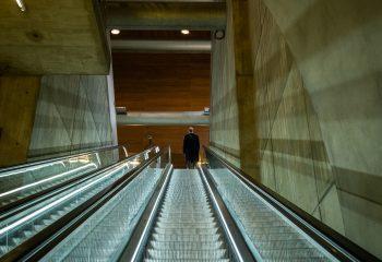 L Homme dans le Metro