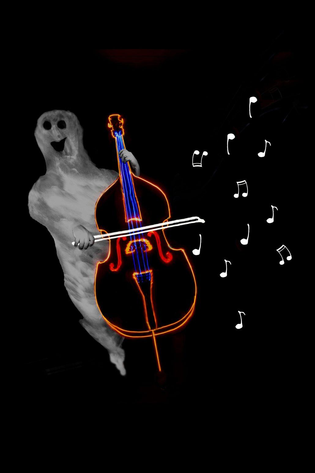 fantôme musicien