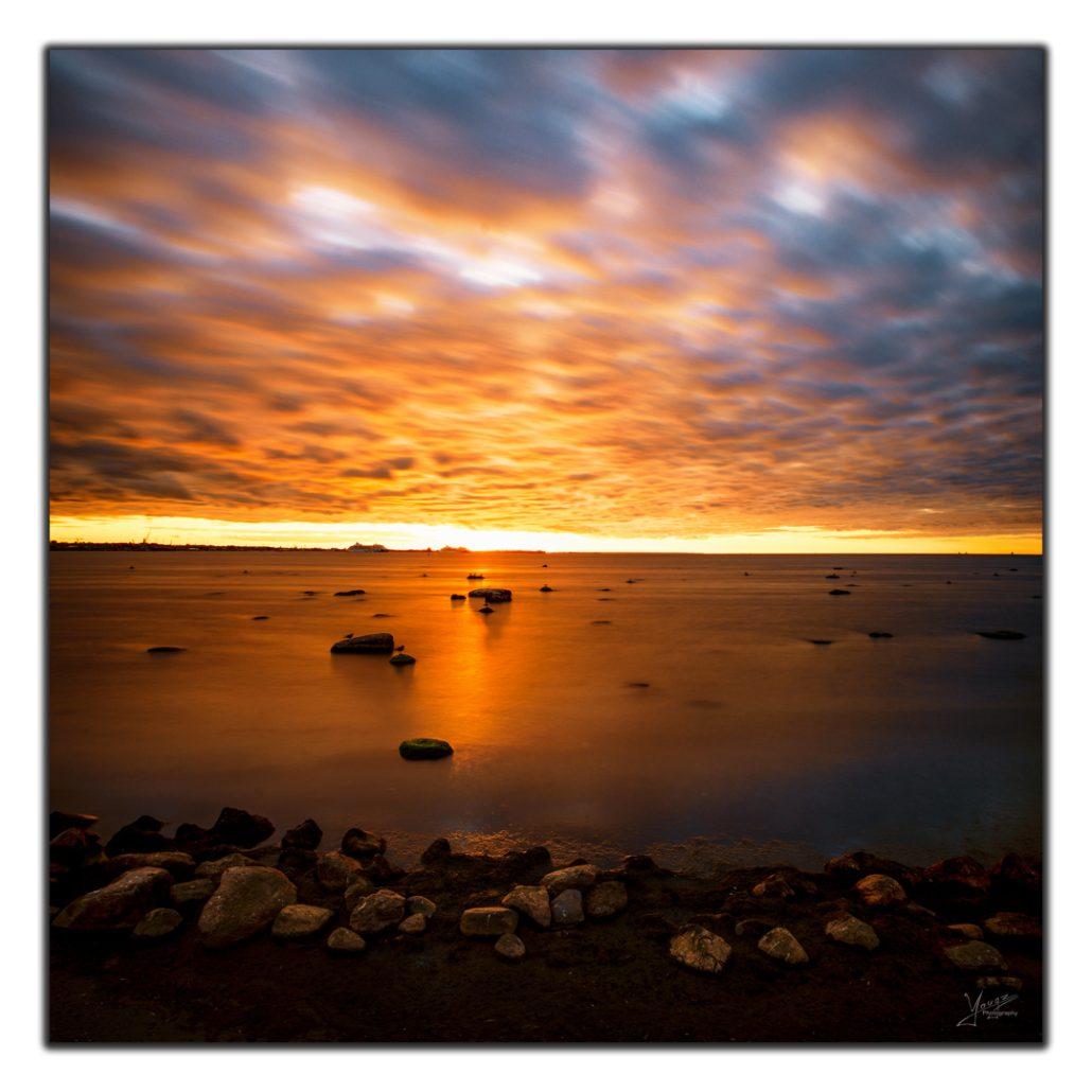 Sunset a Tallin