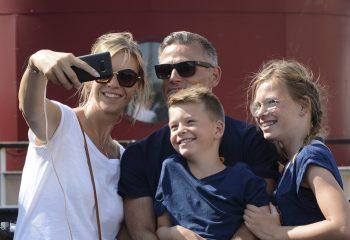 selfie familial