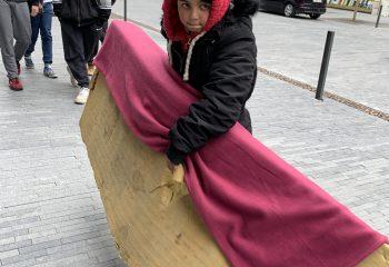 jeune mendiante