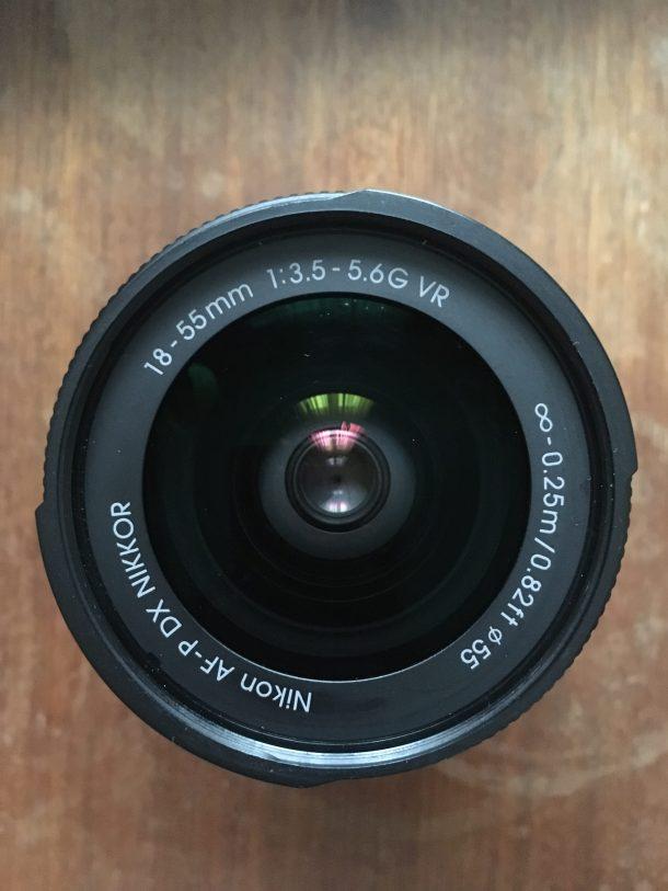 Objectif reflex Nikon AF-P DX Nikkor 18-55 mm