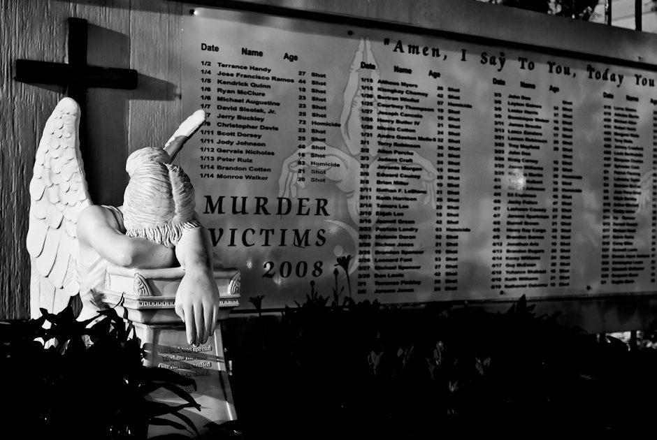 7th ward Murder Wall of Shame