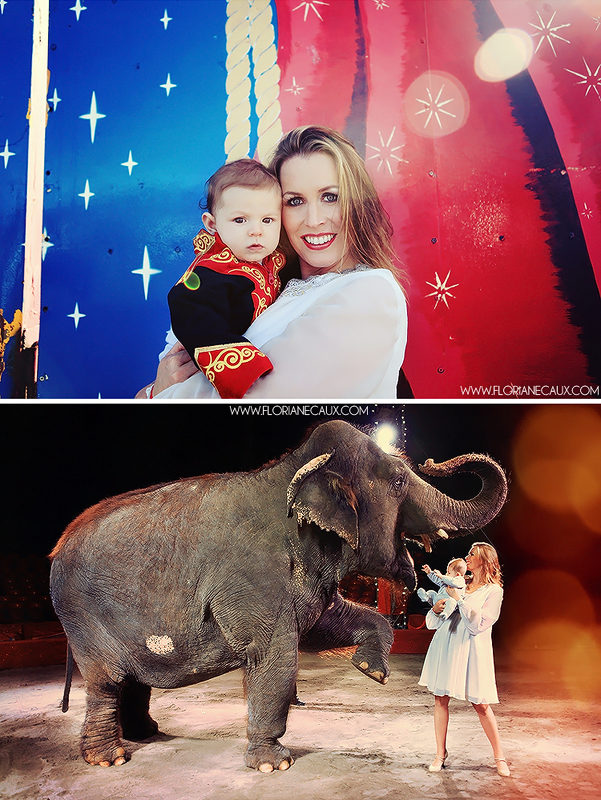 Séance photo maman-bébé au Cirque