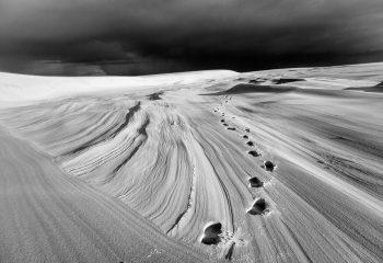 On a marché sur La Dune.