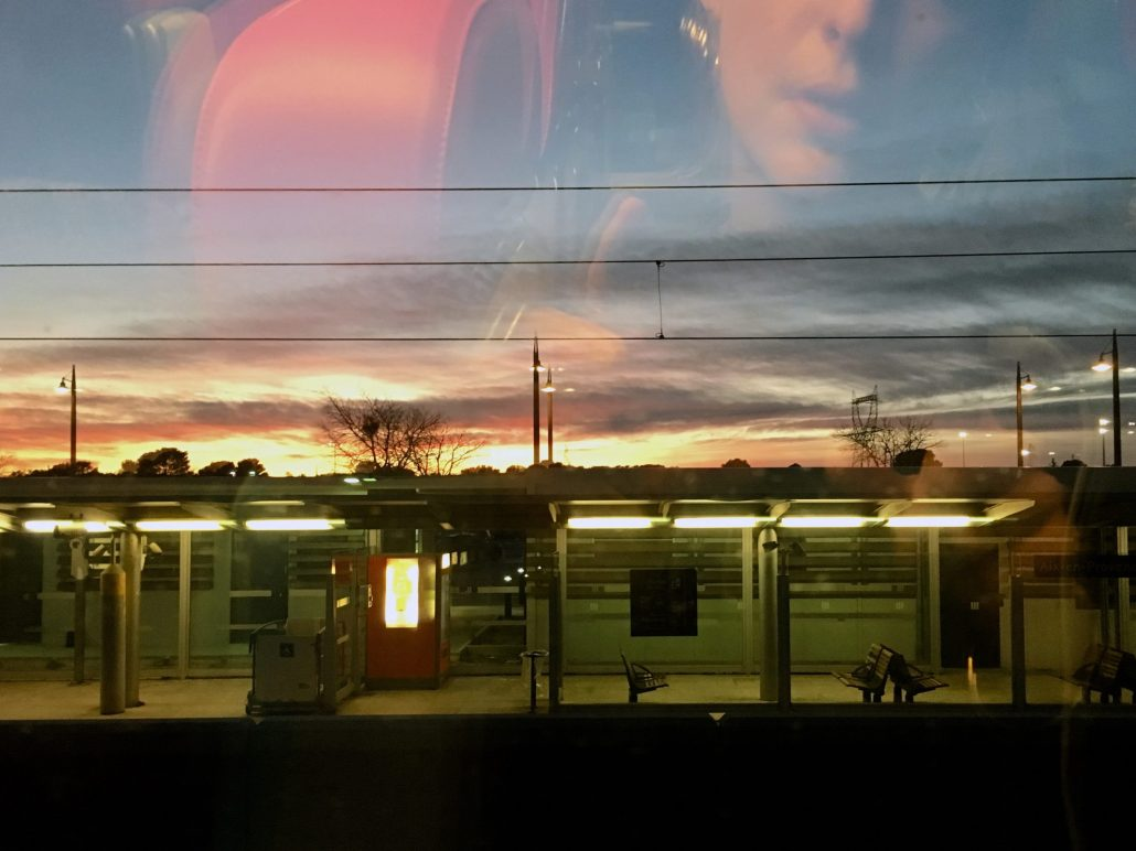 sunset station
