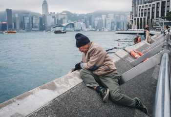 Pêcheur de Hong Kong