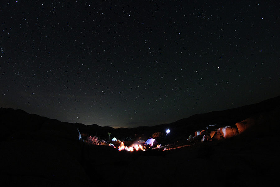 Camping Under a Sky Full of Stars