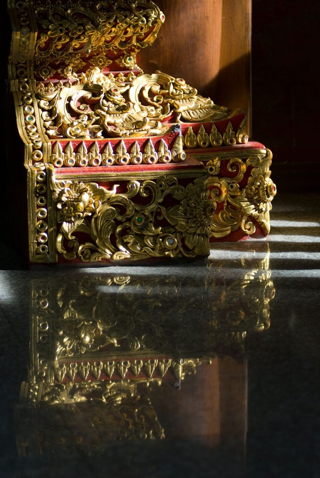 Temple Wat Doï Suthep (Reflet) – Chiang Maï