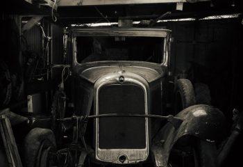 La vieille auto