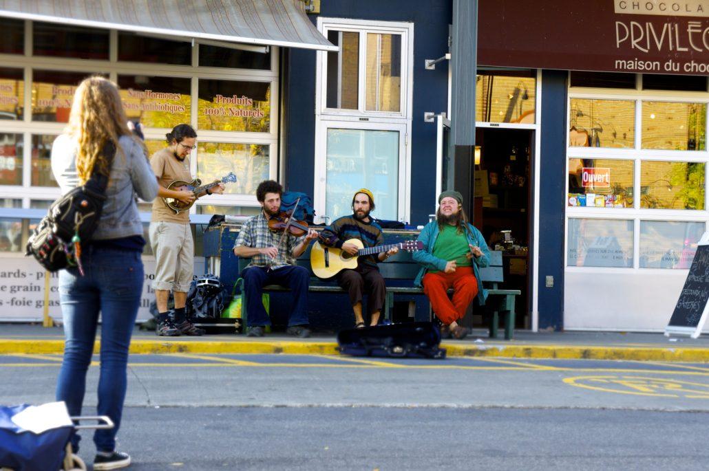 Concert au marché Jean-Talon