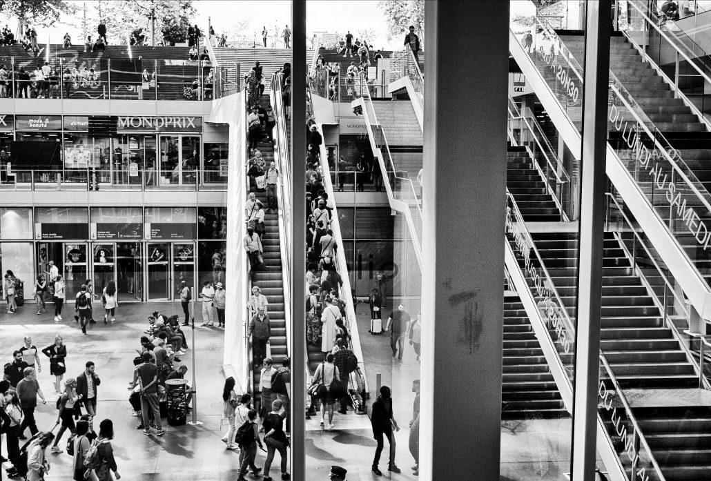 escalator VS escalier