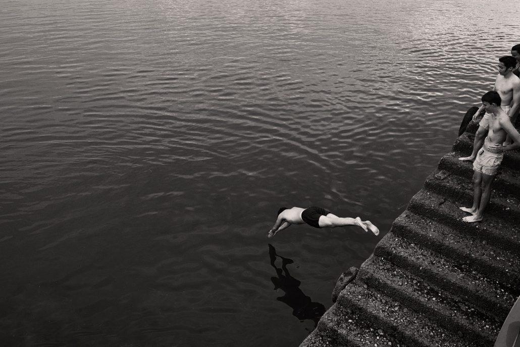 plongeon dans l'inconnu