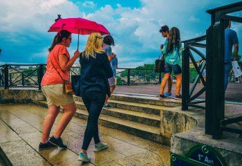les touristes Fushsia