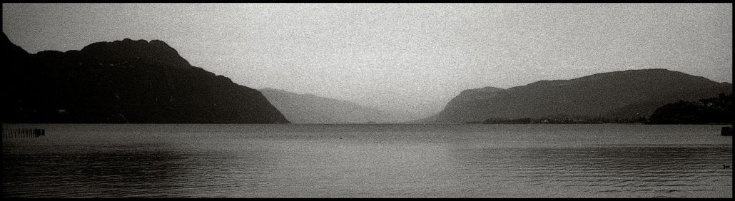 Lac du Bourget, crépuscule