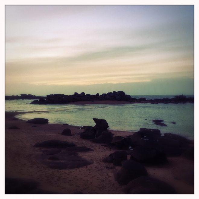 Crepuscule à l'Iles Renote