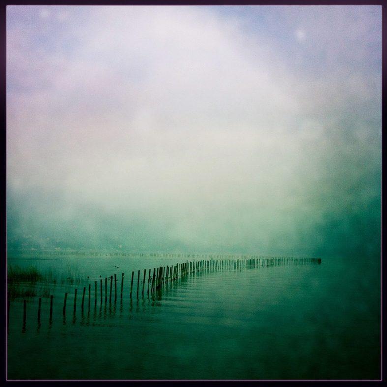 Lac du Bourget à l'Aube