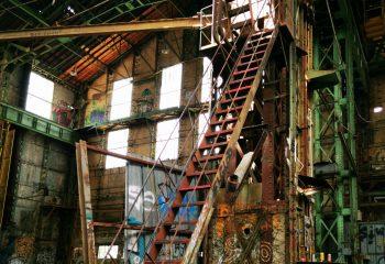 Escalier pour l'Urbex