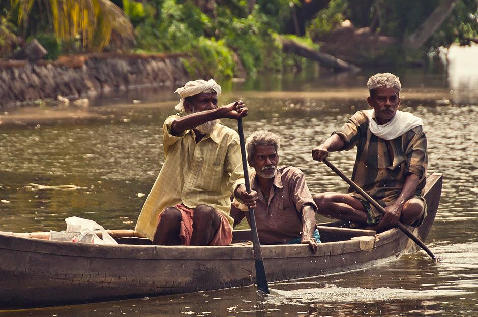 Kottayam > Alleppey (Kerala, Inde)